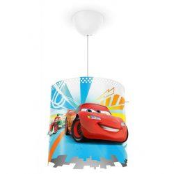 Παιδικό φωτιστικό οροφής cars disney με κίτ ανάρτησης για λαμπτήρες με ντουί Ε27