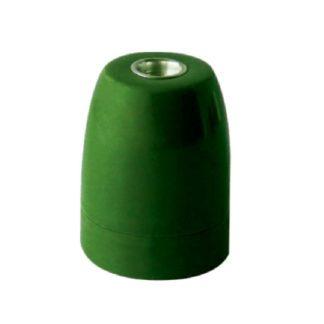 Διακοσμητικό ντουί Vintage E27 πράσινο πορσελάνης EL427809