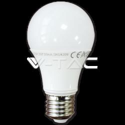 ΛΑΜΠΑ LED E27 7W A60 ΦΥΣΙΚΟ ΛΕΥΚΟ V-TAC4377