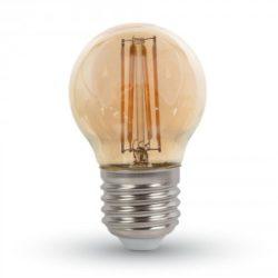 ΛΑΜΠΑ LED E27 G45 4W ΘΕΡΜΟ ΛΕΥΚΟ AMBER COVER V-TAC7100