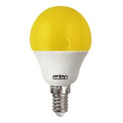 Λάμπα led P45 σφαιρική Ε14 1.8W 230V κίτρινο φως δέσμης 160° enjoy simplisity 15000h