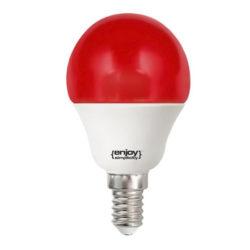 Λάμπα led P45 σφαιρική Ε14 1.8W 230V κόκκινο φως