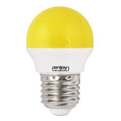 Λάμπα led P45 σφαιρική Ε27 1.8W 230V κίτρινο φως δέσμης 160° enjoy simplisity 15000h