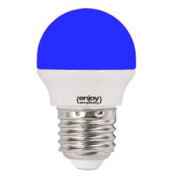 Λάμπα led P45 σφαιρική Ε27 1.8W 230V μπλε φως δέσμης 160° enjoy simplisity 15000h