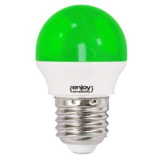 Λάμπα led P45 σφαιρική Ε27 1.8W 230V πράσινο φως δέσμης 160° enjoy simplisity 15000h