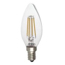 Λάμπα led dream fillament E14 b35 4W 230V κίτρινο φως