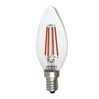 Λάμπα led dream fillament E14 b35 4W 230V κόκκινο φως EL823505