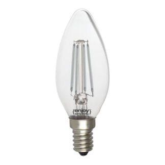 Λάμπα led dream fillament E14 b35 4W 230V μπλε φως
