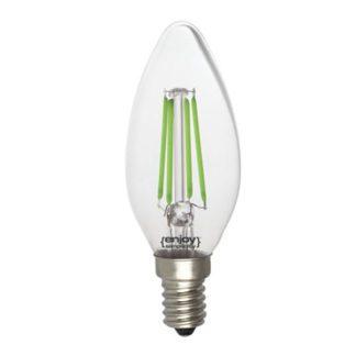 Λάμπα led dream fillament E14 b35 4W 230V πράσινο φως