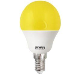 Λάμπα led P45 σφαιρική Ε14 1.8W 230V κίτρινο φως