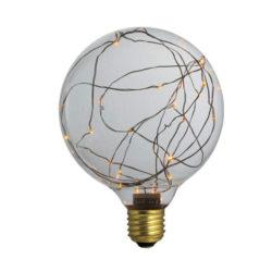 Διακοσμητική λάμπα led Dream Stars κίτρινο φως E27 1,5W 230V Globe Ø125mm