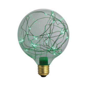 Διακοσμητική λάμπα led Dream Stars πράσινο φως E27 1,5W 230V Globe Ø125mm