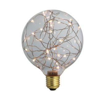 Διακοσμητική λάμπα led Dream Stars 2700k θερμό λευκό φως 30lm E27 1,5W 230V Globe Ø125mm