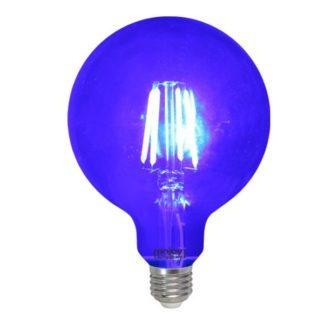 Λάμπα led dream fillament E27 G125 4W 230V μπλε φως