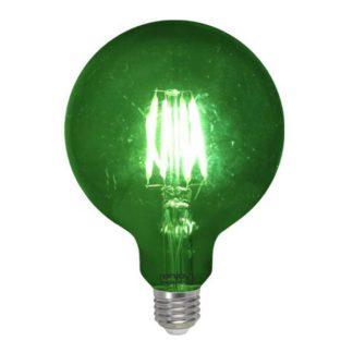 Λάμπα led dream fillament E27 G125 4W 230V πράσινο φως
