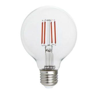 Λάμπα led dream fillament E27 G80 4W 230V κόκκινο φως