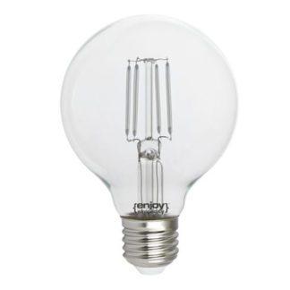 Λάμπα led dream fillament E27 G80 4W 230V μπλε φως