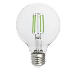 Λάμπα led dream fillament E27 G80 4W 230V πράσινο φως