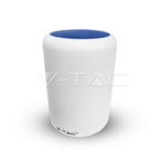V-TAC Επιτραπέζιο φωτιστικό LED 5W με Ρύθμιση Φωτισμού 3000Κ + RGB και Ηχείο Bluetooth-MPLE