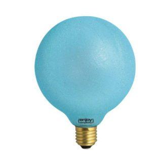 Διακοσμητική λάμπα led Dream Ice γαλάζιο φως E27 0,8W 230V Globe Ø125mm