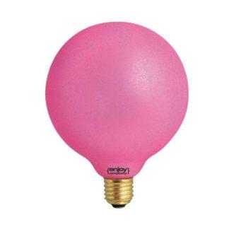 Διακοσμητική λάμπα led Dream Ice ροζ φως E27 0,8W 230V Globe Ø125mm