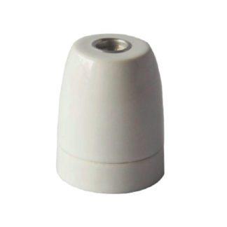 Διακοσμητικό ντουί Vintage E27 λευκό πορσελάνης