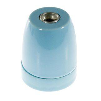 Διακοσμητικό ντουί Vintage E27 μπλε πορσελάνης