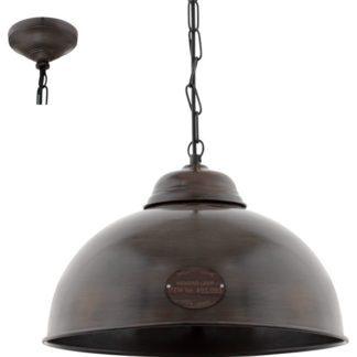Κρεμαστό μεταλλικό φωτιστικό TRURO 2 49632