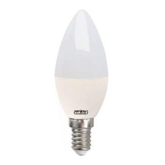 Λάμπα led κεράκι E14 5.5W ενδιάμεσο λευκό φως EL102374
