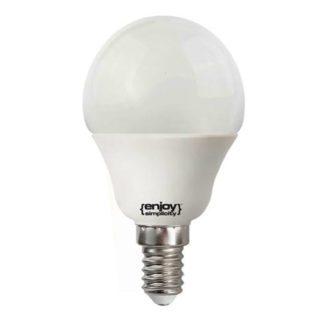Λάμπα led σφαιρική E14 5.5W ενδιάμεσο λευκό φως EL102454