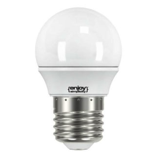 Λάμπα led σφαιρική E27 3.4W θερμό λευκό φως EL741250