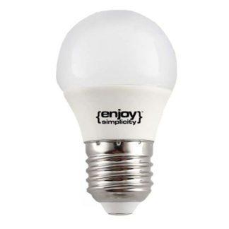 Λάμπα led σφαιρική E27 5.5W ενδιάμεσο λευκό φως EL103454