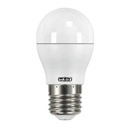 Λάμπα led σφαιρική E27 5.5W θερμό λευκό φως EL741470