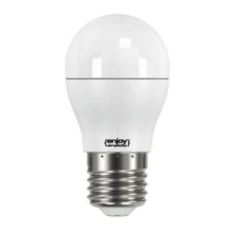 Λάμπα led σφαιρική E27 5.5W ψυχρό λευκό φως EL746470