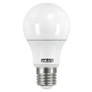Λάμπα led E27 5.5W θερμό λευκό φως EL711470