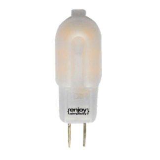 Λάμπα led G4 πλαστική 2,5W θερμό λευκό φως EL104113