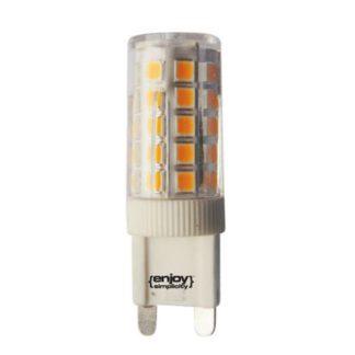 Λάμπα led G9 κεραμική 5W ντιμαριζόμενη θερμό λευκό φως EL109373