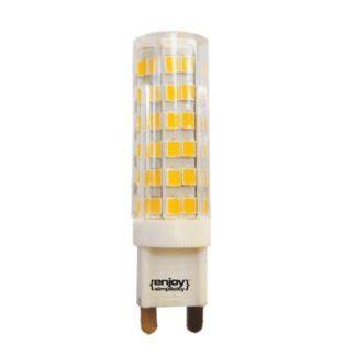 Λάμπα led G9 κεραμική 7W ντιμαριζόμενη θερμό λευκό φως EL109523