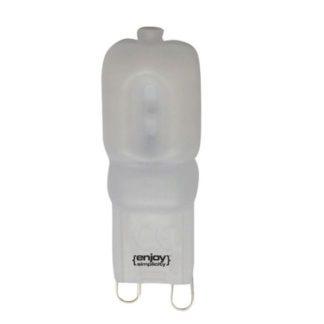 Λάμπα led G9 πλαστική 3W ντιμαριζόμενη θερμό λευκό φως EL109203