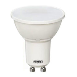 Λάμπα led GU10 Ø50mm 3W 230V 6500k ψυχρό λευκό φως