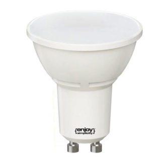 Λάμπα led GU10 Ø50mm 4W 230V 2700k θερμό λευκό φως