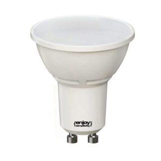 Λάμπα led GU10 6.3W ντιμαριζόμενη ψυχρό λευκό φως EL886530