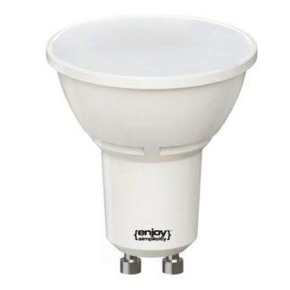 Λάμπα led GU10 6W θερμό λευκό φως EL106102