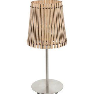 Επιτραπέζιο φωτιστικό SENDERO 96196 από ξύλο σφενδάμου