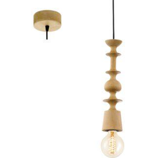 Κρεμαστό φωτιστικό ξύλινο AVOLTRI 49373