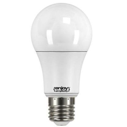 Λάμπα led με ανιχνευτή κίνησης Ε27 9,5W ψυχρό λευκό φως EL101406