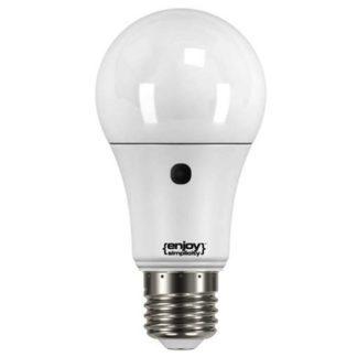 Λάμπα led με φωτοκύτταρο ημέρας-νύχτας Ε27 9,5W θερμό λευκό φως EL782806