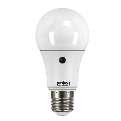 Λάμπα led με φωτοκύτταρο ημέρας-νύχτας Ε27 9,5W ψυχρό λευκό φως EL786840