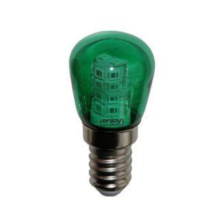 Λάμπα led νυκτός T25 E14 2W πράσινο φως EL775109