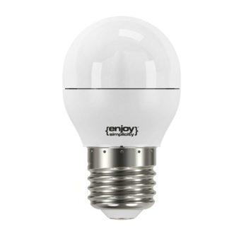Λάμπα led σφαιρική Ø45 E27 5.6W ντιμαριζόμενη ψυχρό λευκό φως EL795476